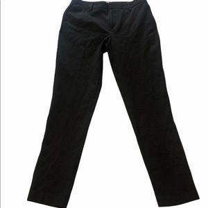 Vince Camuto Women's Black Ponte Ankle Dress Pants